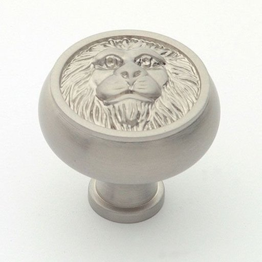 """View a Larger Image of St. Georges Knob, Satin Nickel, 1-1/2"""" Diameter, 1452SN"""