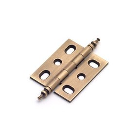 Weathered Brass Mortise Hinge, 2572WB