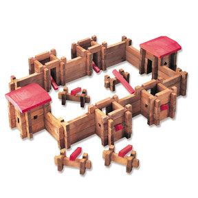 Classic Fort Playset 140 pc Set