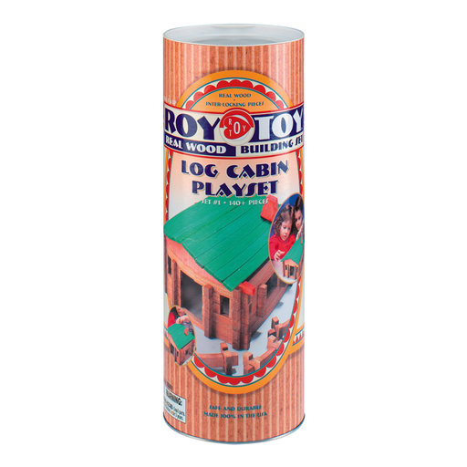 View a Larger Image of Classic Large Log Cabin 140 pc Set