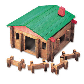 Classic Large Log Cabin 140 pc Set