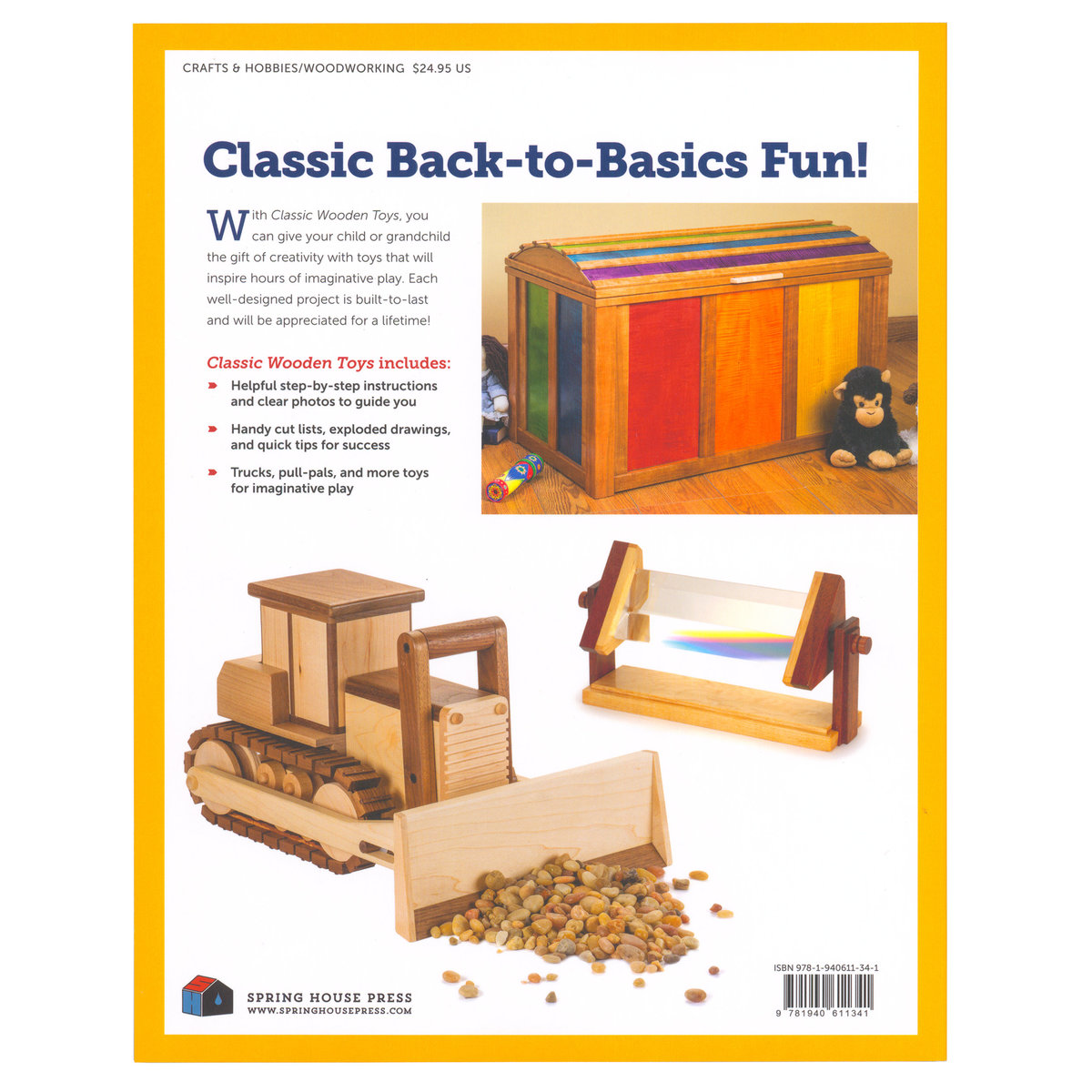 woodcraft magazine - classic wooden toys 20 built to last