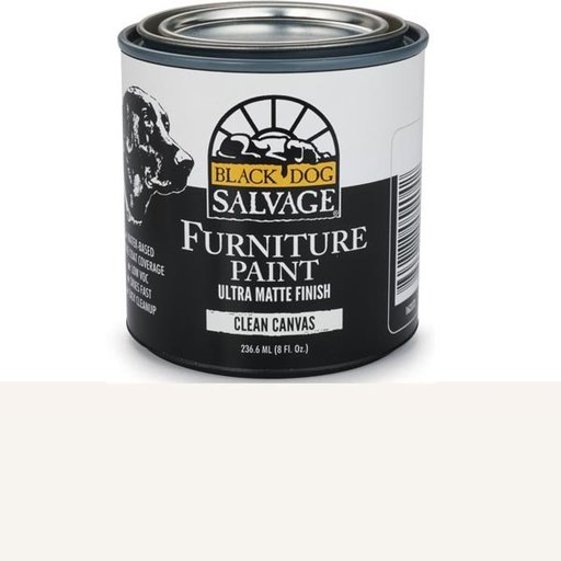 View a Larger Image of Clean Canvas - White Furniture Paint, 1/2 Pint 236.6ml (8 fl. Oz.)