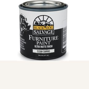Clean Canvas - White Furniture Paint, 1/2 Pint 236.6ml (8 fl. Oz.)
