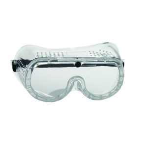 Clear Frame and Lens Goggles