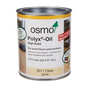 Clear Gloss Polyx-Oil 3011 Solvent Based .75 l