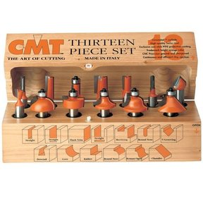 13 Piece Router Bit Set, Model 800.505.11