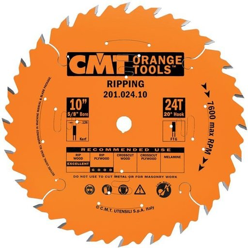 "View a Larger Image of 201.030.12 Circular Saw Blade 12"" x 1"" Bore x 30 Tooth FTG"