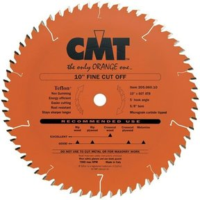"205.060.10 Circular Saw Blade 10"" x 5/8"" Bore x 60 Tooth ATB"