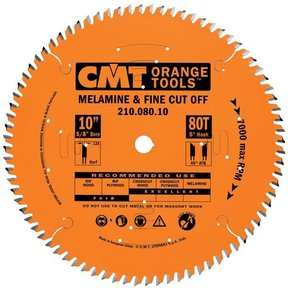 "210.060.08 Circular Saw Blade 8"" x 5/8"" Bore x 60 Tooth ATB"