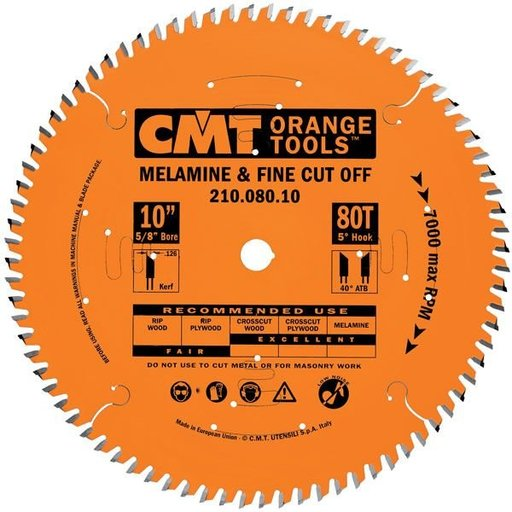 """View a Larger Image of 210.096.12 Circular Saw Blade 12"""" x 1"""" Bore x 96 Tooth ATB"""