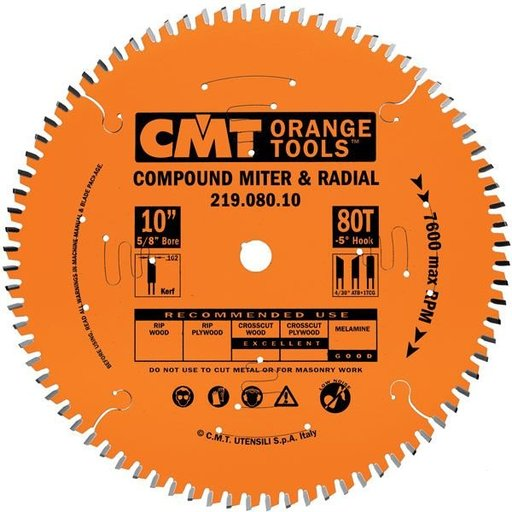 """View a Larger Image of 219.090.12 Saw Blade, 12"""" x 90T COMB, 1"""" BORE"""