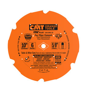 "236.006.10 Miter Saw/Table Saw Blade, 10"" x 6T x 5/8"" bore"