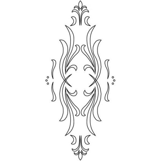 View a Larger Image of 3D Router Carver Classical Cabinet Door Template, Model RCS-302