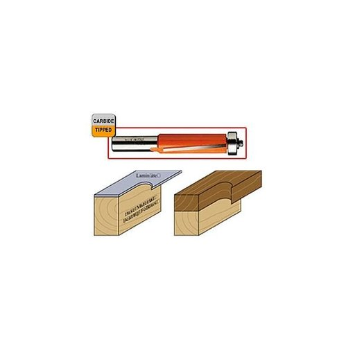 "View a Larger Image of 806.191.11 Flush Trim Router Bit 1/4""SH 3/4""D 1""CL 3/4""BD"