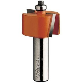 "835.990.11 Rabbeting Router Bit 1/2"" SH 5/8"" CD 2"" D 7/8"" CL 3/4"" B"