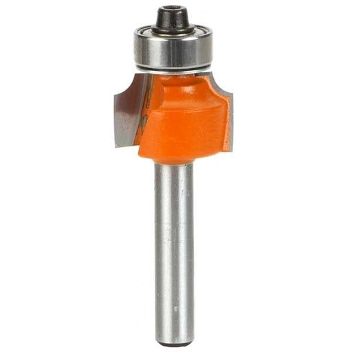 "View a Larger Image of 838.222.11 Roundover Router Bit 1/4""SH 3/16""R 7/8""OD 1/2""CL 1/2""BD"