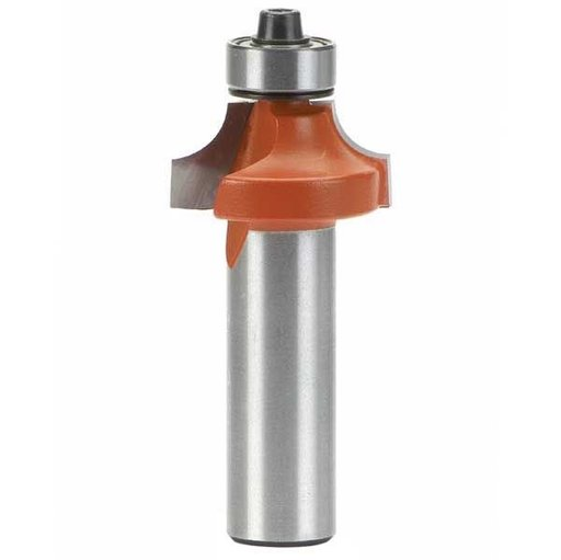 "View a Larger Image of 838.254.11 Roundover Router Bit 1/4""SH 1/4""R 1""OD 1/2""CL 1/2""BD"