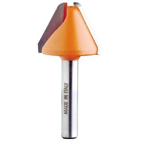 "849.501.11 60 Degree Lettering Router Bit 1/2""SH 1-1/8""D 3/4""CL"