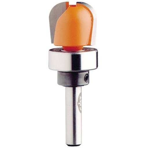 "View a Larger Image of 851.002.11B Bowl And Tray Router Bit with Top Bearing 1/4""SH 1/4""R 3/4""D 5/8""CL"