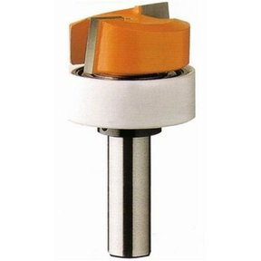 "852.001.11B Dado And Planer Router Bit with Top Bearing 1/4""SH 3/4""D 3/8""CL 3/4""BD"
