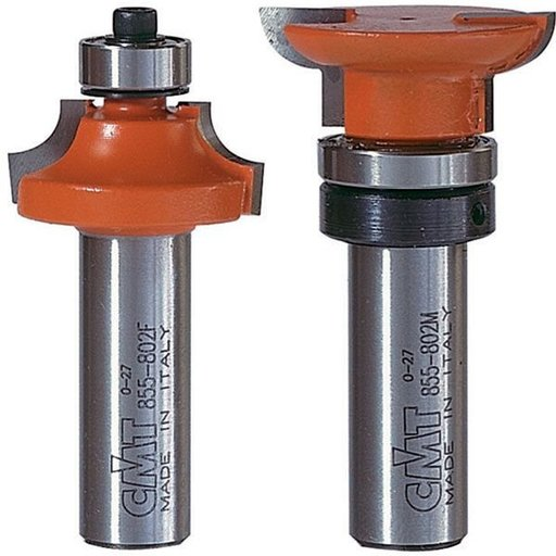 "View a Larger Image of 855.802.11 Divided Light Rail And Stile Router Bit Set 1/2""SH"
