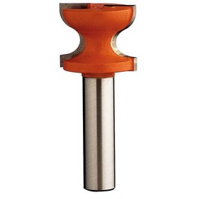 "855.804.11 Window Sill Router Bit 1/2""SH 1-1/4""D 1""CL 7/32""R1 3/8""R2"