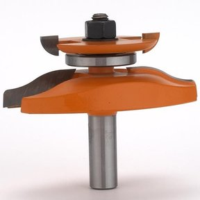 "890.524.11 Raised Panel Router Bit with Back Cutter 3-1/2"" Diameter"