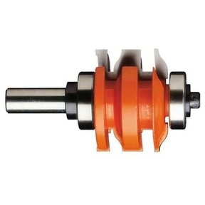 "891.521.11 One Piece Rail And Stile Router Bit A 23/32"" to 7/8"" 1/2"" SH 2"" OD 23/32"" to 7/8"" ST"