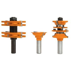 Entry And Passage Door Router Router Bit Set