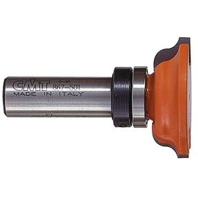 "Lonnie Bird Inverted Roundover Profile Router Bit 1/2""SH 1-1/2""OD 1/4""R 31/64""CL 3/4""BD"