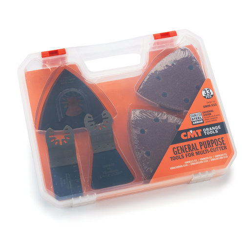 View a Larger Image of OMM-X33 General Purpose MultiTool Cutter Set, 33 pieces