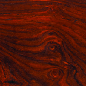 "Cocobolo 1-1/2"" x 1-1/2"" x 6"" Wood Turning Stock"