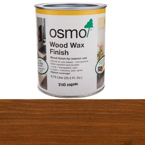 Cognac Wood Wax 3143 Solvent Based .75 l