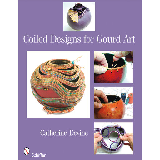 View a Larger Image of Coiled Designs for Gourd Art