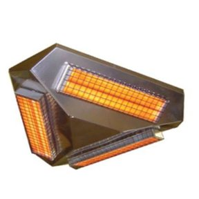 Comfort IR 360 3 Infrared Heater, 1950W, Stainless Steel