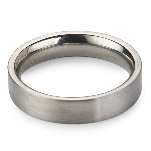 View a Larger Image of Comfort Ring Core - 64AL-4V Titanium - 4mm, Size 12