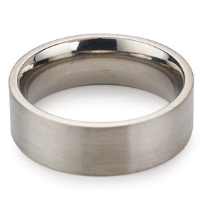 Comfort Ring Core - 64AL-4V Titanium - 6mm, Size 10