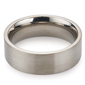Comfort Ring Core - 64AL-4V Titanium - 6mm, Size 4