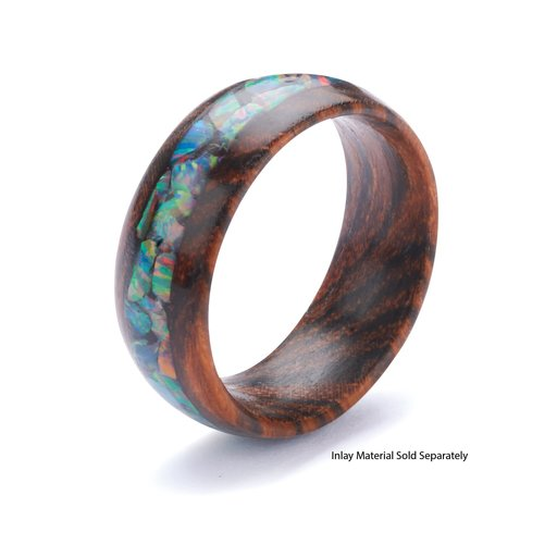View a Larger Image of Comfort Ring Core - Bocote - 8mm, Size 14