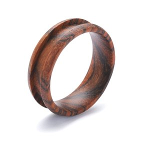 Comfort Ring Core - Bocote - 8mm, Size 9.5