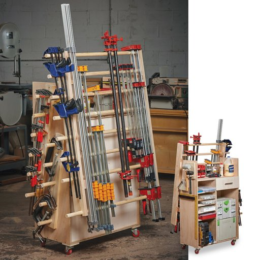 View a Larger Image of Compact Clamp Cart Downloadable Plan