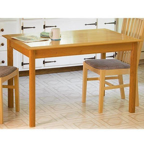Compact Comfortable Kitchen Table - Paper Plan