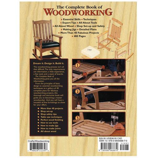 View a Larger Image of Complete Book of Woodworking