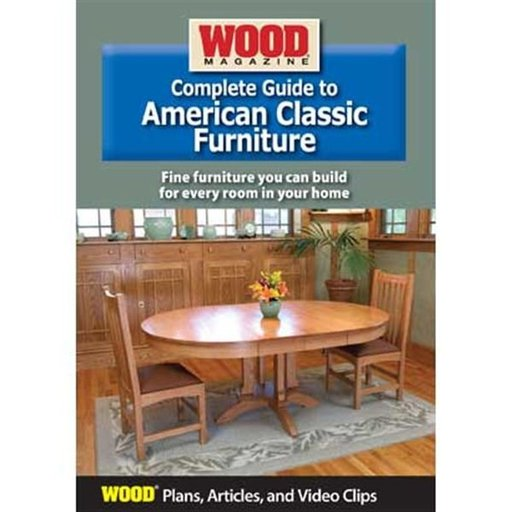 View a Larger Image of Complete Guide to American Classic Furniture DVD
