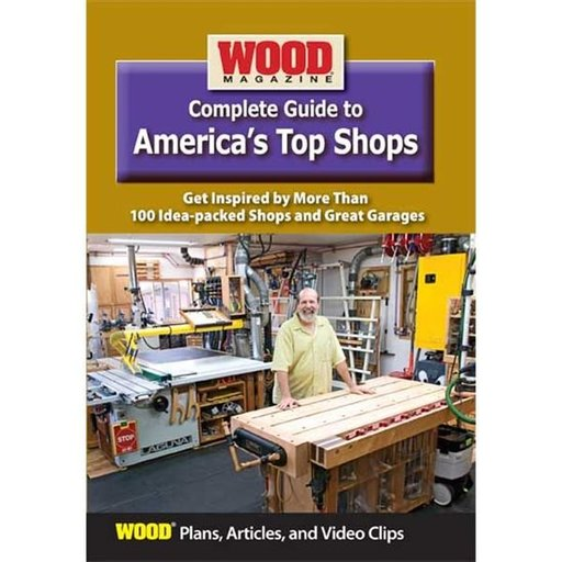 View a Larger Image of Complete Guide to America's Top Shops DVD