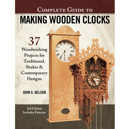 View a Larger Image of Complete Guide to Making Wooden Clocks 3