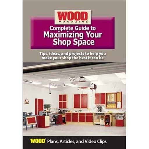 View a Larger Image of Complete Guide to Maximizing Your Shop Space DVD