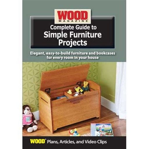 View a Larger Image of Complete Guide to Simple Furniture Projects DVD