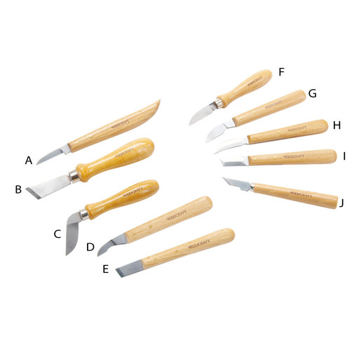 Woodriver complete set of chip carving knives best